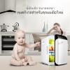 ตู้เย็นเล็ก ขนาด 10L (สีขาวขอบดำ)