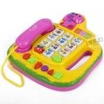 โทรศัพท์ดนตรี สีเหลือง (Novel Telephone)