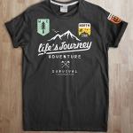เสื้อยืด Dot Life's Journey
