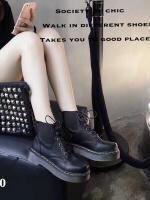 รองเท้าบูท สไตล์DR.Martens (สีดำ )