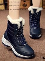 รองเท้าบูท ลุยหิมะ ใส่เที่ยวหน้าหนาว (สีกรม )