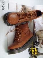 รองเท้าบูท สไตล์DR.Martens (สีน้ำตาล )