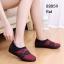 รองเท้าคัทชูเสริมส้น วัสดุผ้านิ่ม ใส่สบายเท้า ดีไซน์ทันสมัย (สีแดง ) thumbnail 2