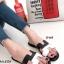 รองเท้าแตะ ลำลอง หนังลายนิ่ม สไตล์Hermes (สีขาว )