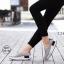 รองเท้าผ้าใบเสริมส้นสีเทา ผ้าแคนวาส พื้นสุขภาพ (สีเทา ) thumbnail 1