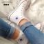 รองเท้าผ้าใบหุ้มข้อสีขาว Converse all star (สีขาว ) thumbnail 4
