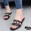 รองเท้าแตะลำลองสีดำ สไตล์แบรนด์ GUCCI (สีดำ ) thumbnail 4
