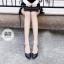 รองเท้าคัทชูส้นสูง ทรงหัวแหลม (สีดำ ) thumbnail 3