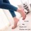 รองเท้าส้นสูงเปิดส้นสีชมพู พียูใสนิ่ม ส้นแก้ว (สีชมพู ) thumbnail 2
