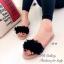 รองเท้าแตะ ลำลอง แบบสวม แต่งภู่ (สีดำ ) thumbnail 5