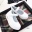 รองเท้าผ้าใบพื้นสุขภาพ แบบสวม สายรัดข้อเท้าเมจิกเทป มีAirMax (สีขาว ) thumbnail 3