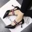 รองเท้าคัทชูส้นสูงสีดำ หัวแหลม เว้าข้าง (สีดำ ) thumbnail 3