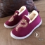 รองเท้าผ้าใบ ใส่หน้าหนาว (สีม่วง ) thumbnail 3