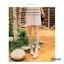 รองเท้าคัทชูผู้หญิง หัวมน ส้นเหลี่ยม (สีครีม ) thumbnail 5