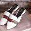 รองเท้าส้นเตี้ยหัวแหลมสีขาว สไตล์แบรนด์ Gucci (สีขาว ) thumbnail 2