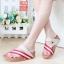 รองเท้าแตะเพื่อสุขภาพ สไตล์ลำลอง หูหนีบ เสริมพื้น (สีครีม ) thumbnail 2