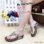 รองเท้าแตะเพื่อสุขุภาพสีเทา หูหนีบ style fitflop (สีเทา ) thumbnail 1