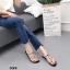 รองเท้าแตะแฟชั่นสีดำ แบบคีบ สไตล์แบรนด์ ZARA (สีดำ ) thumbnail 3