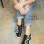 รองเท้าผ้าใบแฟชั่นสีดำ Roger vivier (สีดำ ) thumbnail 2