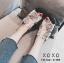 รองเท้าแตะผู้หญิงสีขาว แบบสวม สไตล์ Roger vivier (สีขาว ) thumbnail 4