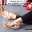 รองเท้าลำลองรัดส้น แบบคีบ (สีเงิน ) thumbnail 3