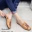 รองเท้าส้นแบนสีน้ำตาล ทรงสลิปเปอร์ Style Gucci (สีน้ำตาล ) thumbnail 2