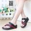 รองเท้าแตะเพื่อสุขภาพ สไตล์ลำลอง หูหนีบ เสริมพื้น (สีน้ำตาล ) thumbnail 2
