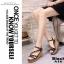 รองเท้าส้นเตารีดรัดส้นสีดำ ตอกหมุดปิรามิด สไตล์ VALENTINO (สีดำ ) thumbnail 2