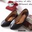 รองเท้าคัทชู สไตล์ZARA หน้าV ใส่ได้หลายโอกาส (สีดำ ) thumbnail 4