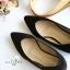 รองเท้าคัทชูส้นสูง หัวแหลม ทรงสุภาพ (สีดำ ) thumbnail 6