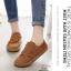 รองเท้าผ้าใบผู้หญิง สไตล์วินเทจ (สีน้ำตาล ) thumbnail 5