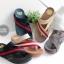 รองเท้าแตะเพื่อสุขภาพ สไตล์ลำลอง หูหนีบ เสริมพื้น (สีครีม ) thumbnail 5