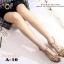 รองเท้าส้นตันรัดข้อสีครีม T-Strap สไตล์ VALENTINO (สีครีม ) thumbnail 3