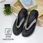 รองเท้าแตะเพื่อสุขภาพ แบบคีบ พื้น Soft Comfort (สีเงิน ) thumbnail 3
