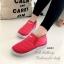 รองเท้าผ้าใบผู้หญิง กันหนาว บุขน (สีชมพู ) thumbnail 3
