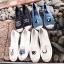 รองเท้าผ้าใบแฟชั่นสีขาว slip on ปักลายดวงตา (สีขาว ) thumbnail 3