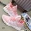 รองเท้าผ้าใบแฟชั่นสีชมพู ผ้าตาข่าย ดีไซน์สวย (สีชมพู ) thumbnail 6