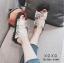 รองเท้าแตะผู้หญิงสีขาว แบบสวม สไตล์ Roger vivier (สีขาว ) thumbnail 1