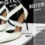 รองเท้าคัทชูส้นสูง หัวแหลม สายไขว้ (สีขาว ) thumbnail 3