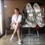 รองเท้าผ้าใบผู้หญิงสีเงิน สไตล์ แบรนด์ Roger Vivier (สีเงิน ) thumbnail 4