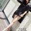 รองเท้าส้นแก้วรัดข้อ ดีไซด์โค้งเว้าสวยงาม (สีเงิน ) thumbnail 8