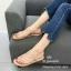รองเท้าแตะผู้หญิงสีครีม แบบคีบ Style Zara (สีครีม ) thumbnail 4
