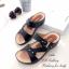 รองเท้าแตะ เพื่อสุขภาพ ปุ่มยางช่วยนวดเท้า ใส่ได้ตลอดวัน (สีดำ ) thumbnail 4