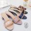 รองเท้าส้นตันเปิดส้นสีดำ style แบรนด์ valentino (สีดำ ) thumbnail 6