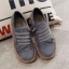 รองเท้าผ้าใบผู้หญิง สไตล์วินเทจ (สีเทา ) thumbnail 3