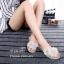 รองเท้าแตะผู้หญิงสีครีม แบบคีบ ยางนิ่ม แต่งดอกไม้ Style Melissa (สีครีม ) thumbnail 3