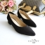รองเท้าคัทชูส้นสูง หัวแหลม ทรงสุภาพ (สีดำ ) thumbnail 2