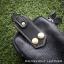 กระเป๋าใส่โทรศัพท์ ร้อยเข็มขัด หนังแท้ รุ่น Belta II สีดำ thumbnail 5