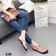 รองเท้าแตะแฟชั่นสีดำ แบบคีบ สไตล์แบรนด์ ZARA (สีดำ ) thumbnail 4