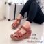 รองเท้าแตะ รัดส้น พื้นสุขภาพ นิ่มสบายเท้า (สีน้ำตาล ) thumbnail 2
